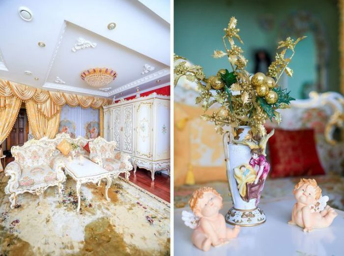 Tiny Apartment Gets Turned Into A Royal Palace
