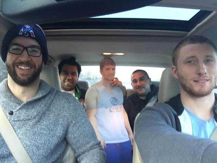 When Their Friend Said He Couldn't Come Party, These Guys Found A Solution