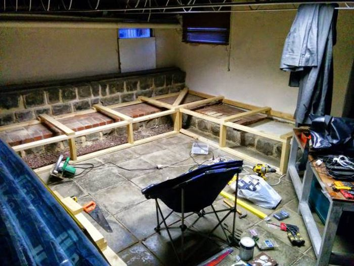 Basement Room Gets Turned Into An Epic Home Movie Theater
