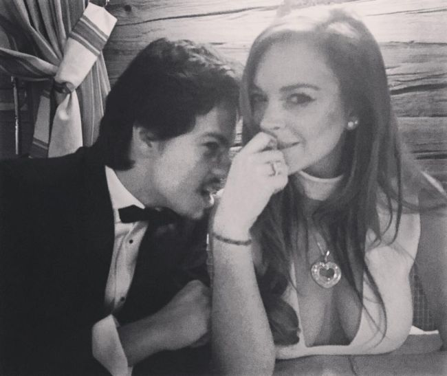 Lindsay Lohan's Boyfriend Popped The Question And Now She's Engaged