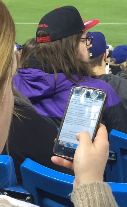 There's A Good Chance That This Woman Doesn't Like Baseball