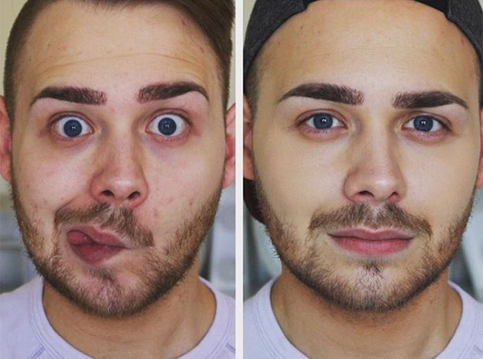 Men Wearing Makeup Is The Newest Trend On Instagram