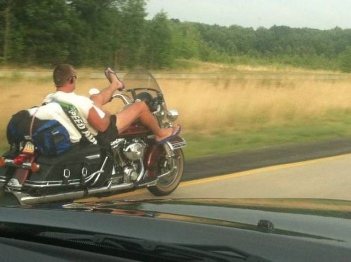 Crazy People Who Have No Business Riding Motorcycles
