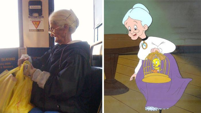 People In The Real World Who Look A Lot Like Famous Fictional Characters