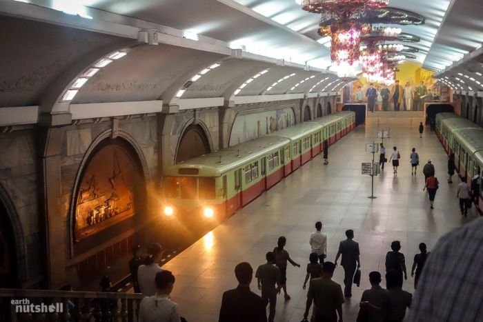 North Korea Opens Up More Subway Stations To Foreigners