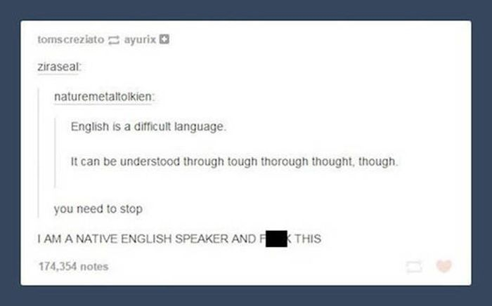 Problems With The English Language That Will Hurt Your Brain
