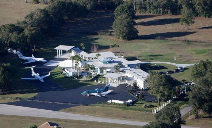 Take A Look At John Travolta S Impressive Florida Home