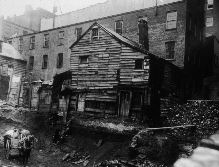 What The Slums Of New York Looked Like In The 1870s