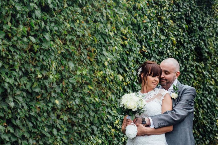 Bride Supports Her Terminally Ill Groom By Shaving Her Head At Their Wedding