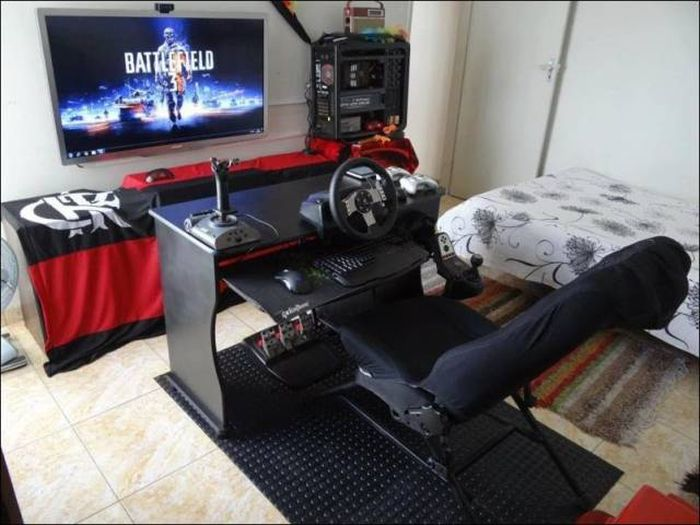 The Coolest Gaming Rigs And Gaming Rooms From Around The World