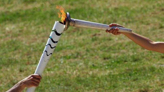 The 2016 Olympic Torch Has Officially Been Lit