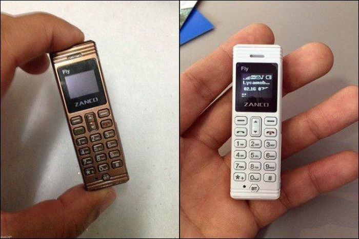 The Zanco Fly Is One Of The World's Smallest Mobile Phones