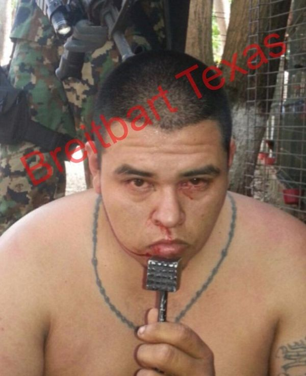 Marine Humiliates Mexican Drug Bosses By Making Them Wear Lingerie