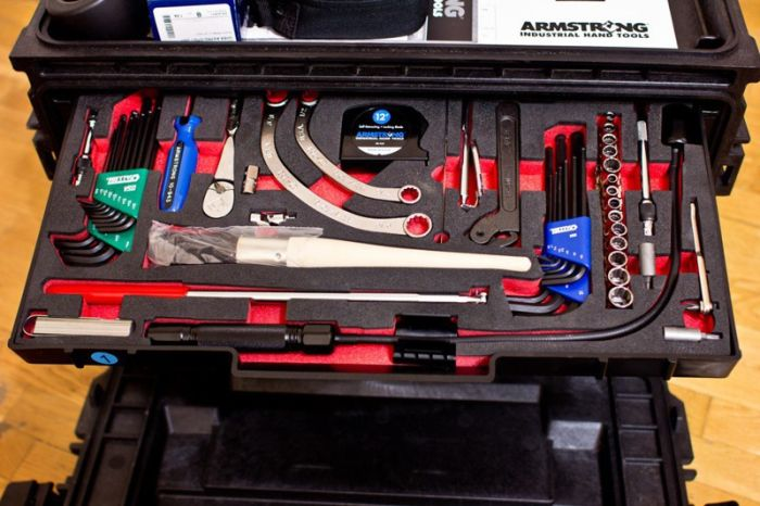 A Look Inside The Tool Box Of An American Military Engineer