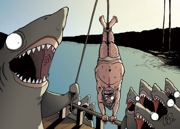 Animals Rule The World In These Cynical Illustrations