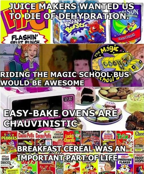 Things Every '90s Kid Realizes When They Look Back At Their Childhood