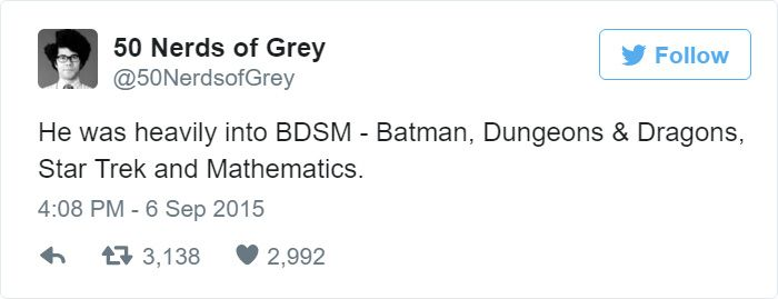 50 Nerds Of Grey Is The Perfect 50 Shades Of Grey Parody