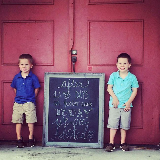Heartwarming Photos Of Kids Who Were Adopted By Loving Families