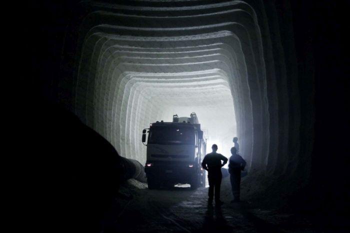 An Inside Look At Sicily's Biggest Salt Mines
