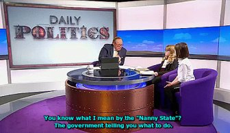 Little Girl Schools A British Reporter On Live TV