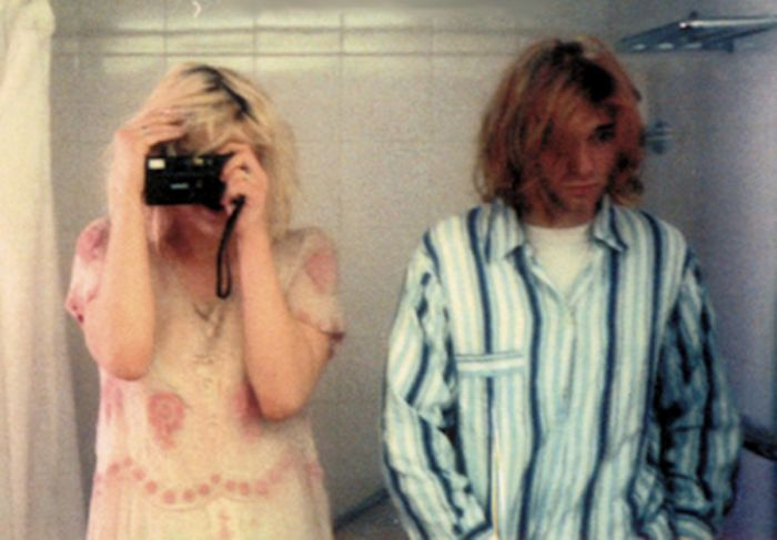 Vintage Photos From Kurt Cobain And Courtney Love's Wedding Day
