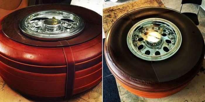 A Company Is Turning Old Airplane Parts Into Awesome Furniture
