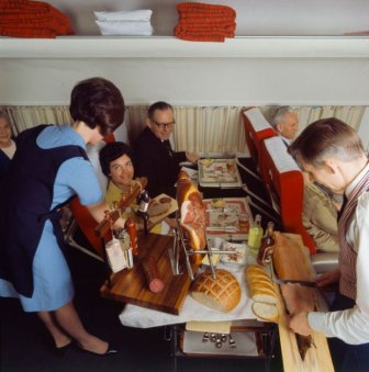 SAS Scandinavian Airlines Served Some Delicious Food Back In The Day