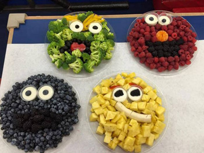 Sometimes Playing With Your Food Can Be More Fun Than Eating It