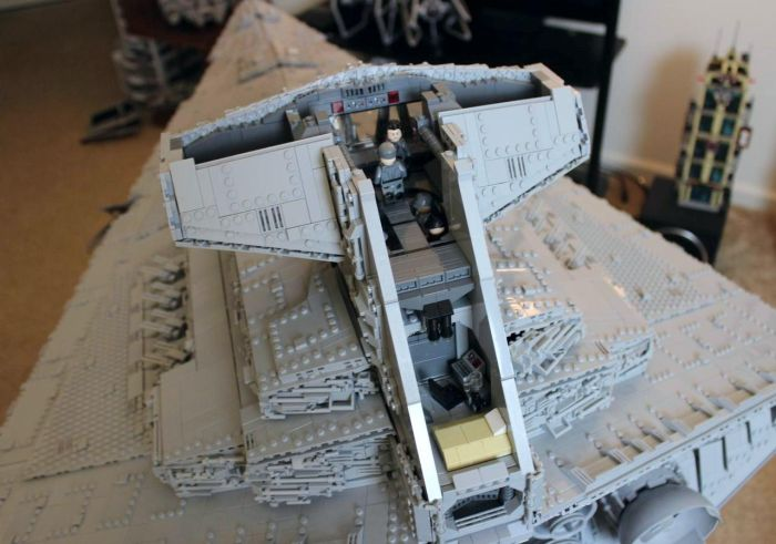 This Massive Imperial Star Destroyer Tyrant Is Sure To Impress Any Star Wars Fan