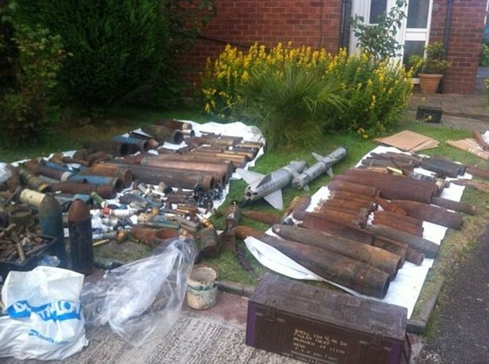 War Veteran Gets Locked Up For Two Years After Police Find His Weapons Stash