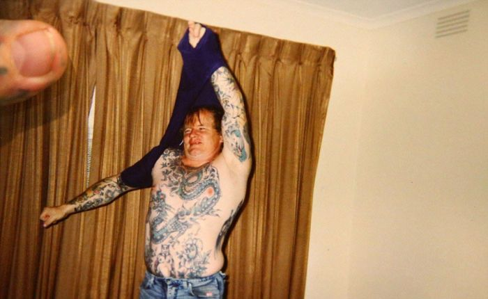 Gangster Covers Every Single Inch Of His Body In Tattoos