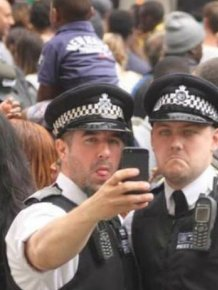 The Metropolitan Police Really Know How To Party