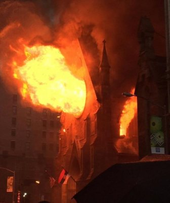 Manhattan Cathedral Burns Down On Orthodox Easter Sunday