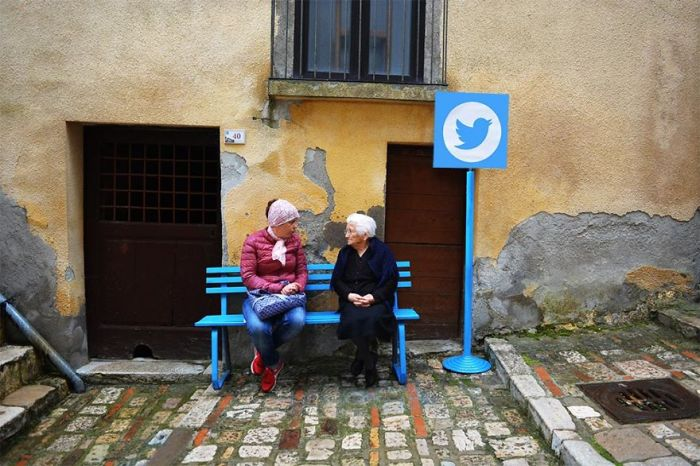 Artist Turns Italian Village Into A Real Life Version Of The Internet
