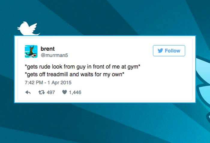 It Turns Out That Tweeting About Exercise Is Way More Fun Than Exercising