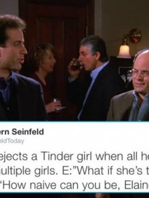 Twitter Account Modern Seinfeld Totally Nails What The Show Would Be Like Today