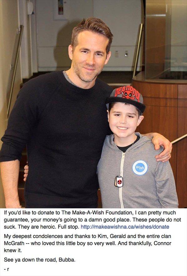 Ryan Reynolds Pays Tribute To A Fallen Friend On Facebook