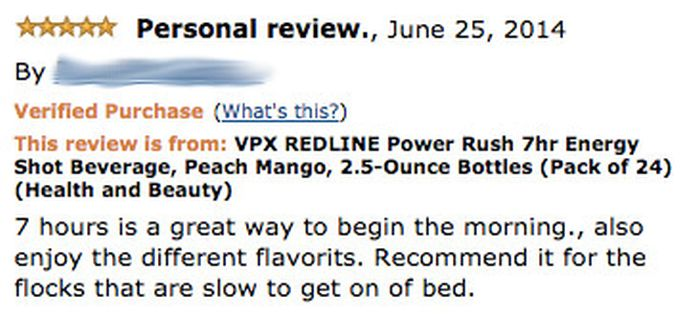 Hilarious Energy Drink Reviews From Amazon That Point Out The Awful Side Effects