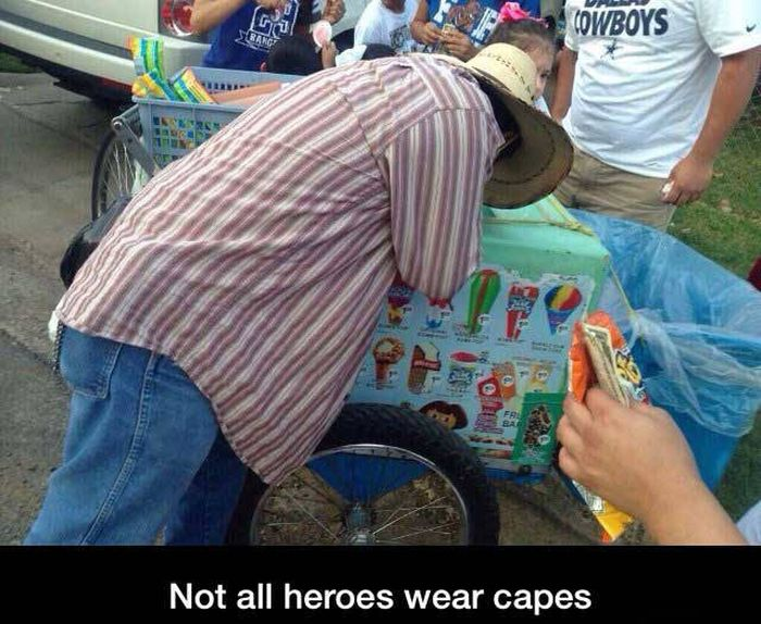 Photos That Prove Heroes Come In All Shapes And Sizes