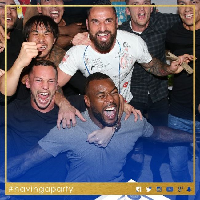 Leicester City Players Party At Jim Vardy's House To Celebrate Their Big Win