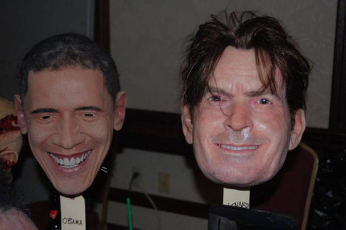 These Realistic Celebrity Masks Are Both Creepy And Cool