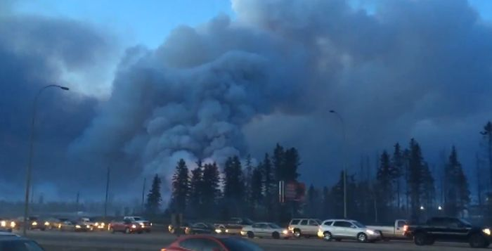 Wildfire Causes Fort McMurray To Be Evacuated