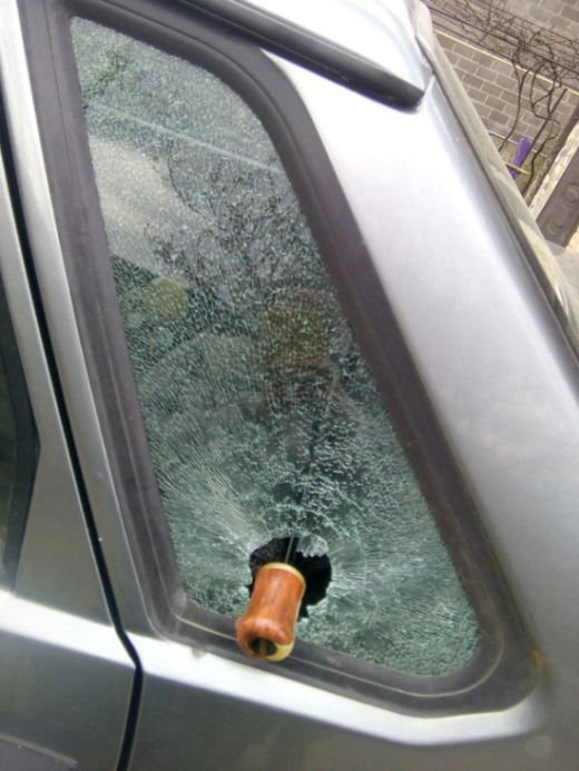 Why You Should Never Let An Umbrella Roll Around In Your Car