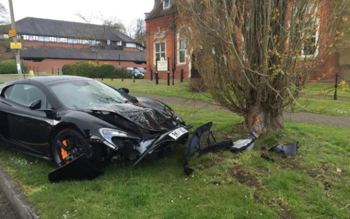 Owner Crashes McLaren 650S Spider Just Minutes After It Was Delivered To His Home