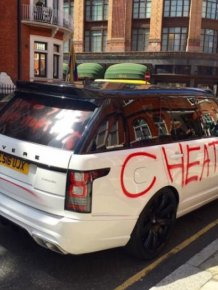 Scorned Lover Uses Spray Paint To Tell The World How She Really Feels