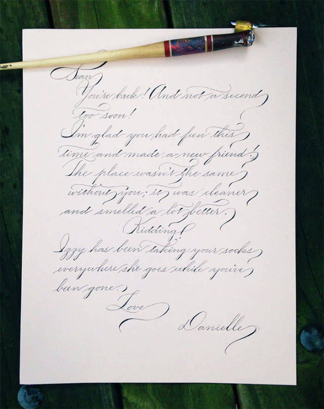 Awesome And Amazing Handwriting Skills That Will Impress You