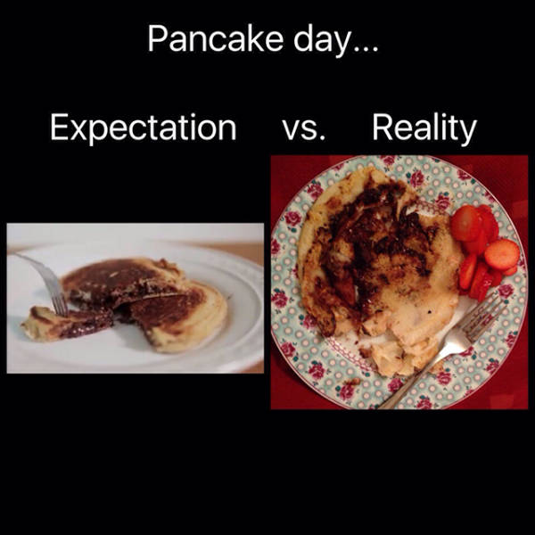 The World Would Be A Better Place If Expectations Matched Up With Reality