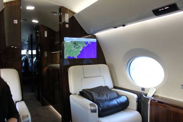 First Class Isn't Good Enough For This Guy After Flying On A $61.5 Million Private Jet