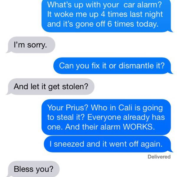 Crazy Neighbors Always Send The Most Terrible Texts