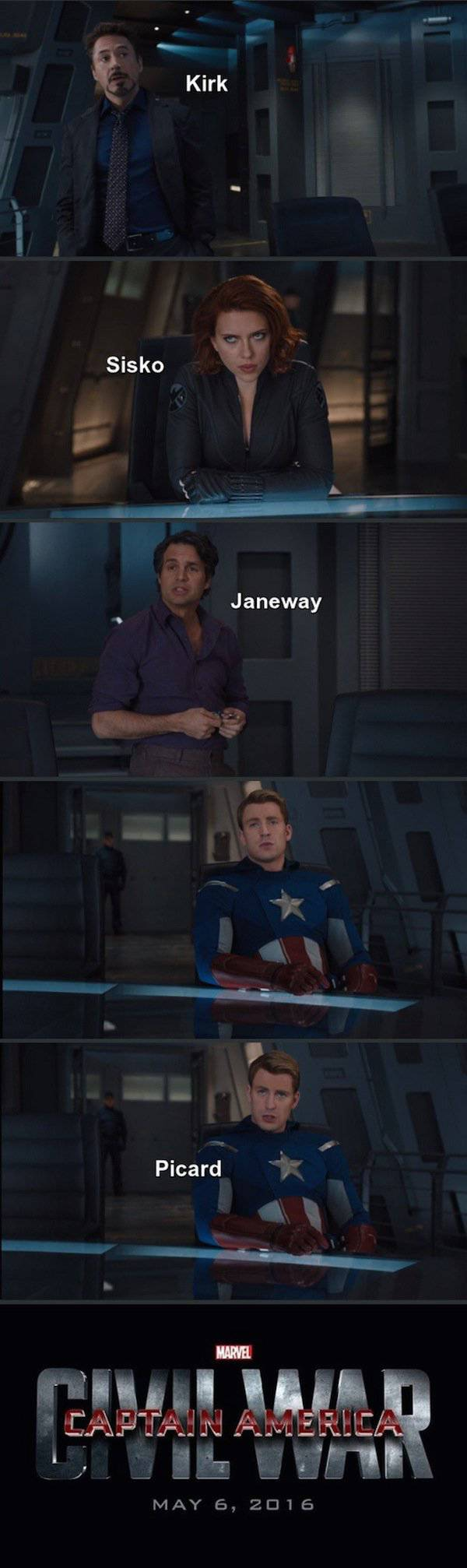 The Truth About Why Iron Man And Captain America Started A Civil War